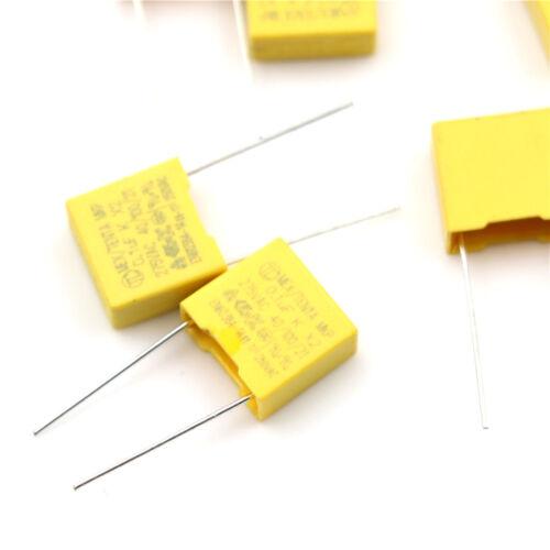 20Pcs 0.1UF X2 104 100NF 275V 10mm Regulation DIP Polypropylene Film CapaciWTUS