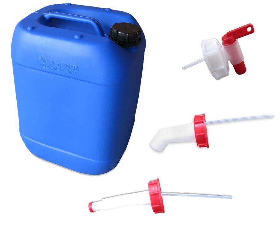 20 L Kanister lebensmittelecht dicht blau + Auslaufhahn, Ausgießer Ausgießer Ausgießer unbenutzt  | Große Ausverkauf  50c6ca