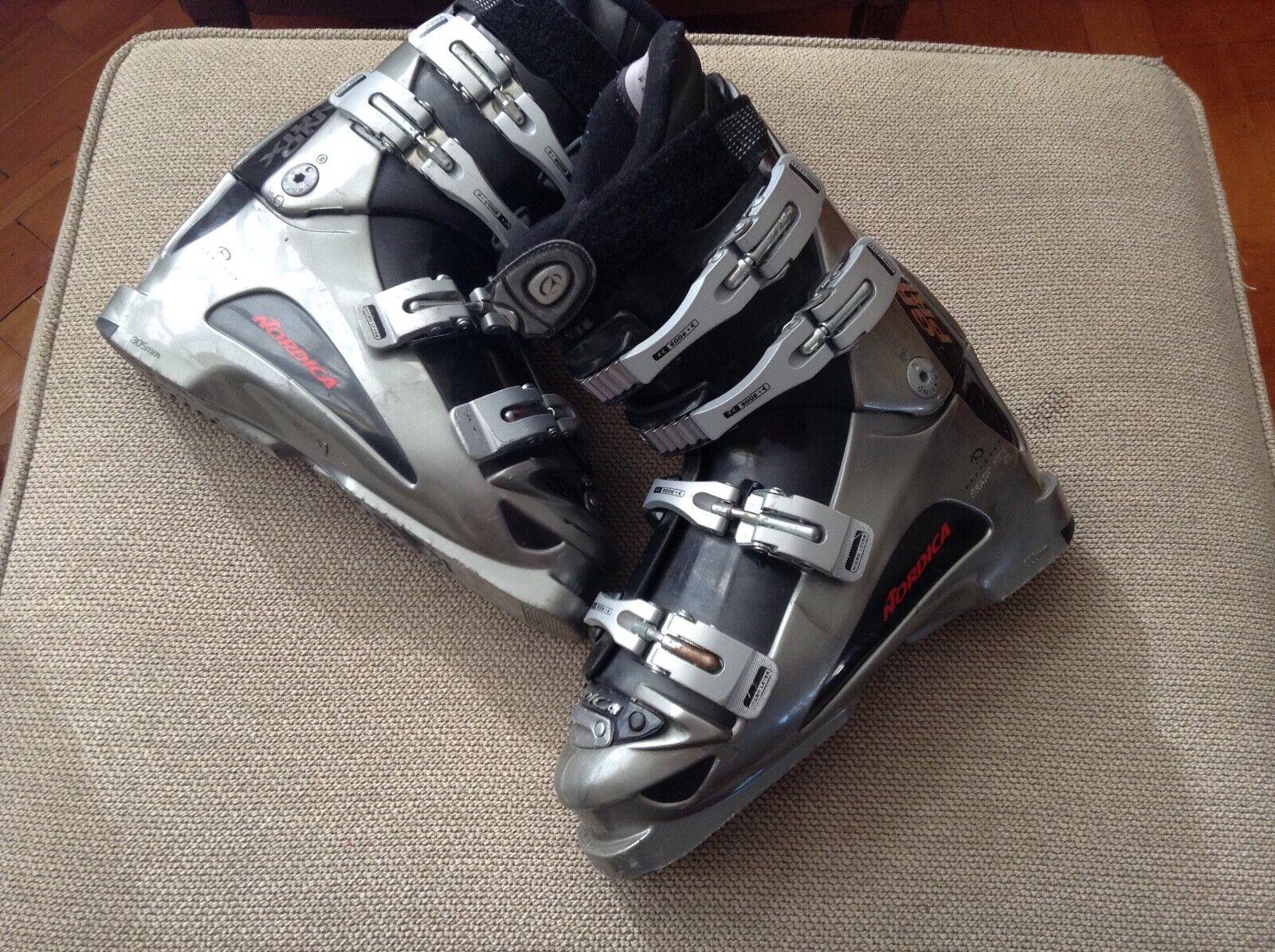 Gran Premio nórdico botas de esquí femenino uk7 mondo 26,5 suelas de zapatos 305mm