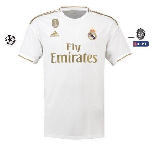 128-XXL Hazard 7 Champions Trikot Adidas Real Madrid 2019-2020 Home UCL
