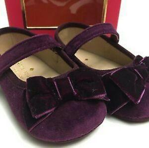 NEW Kate Spade Baby Shoe Velvet Mary