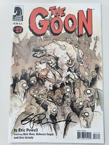 THE-GOON-27-2008-DARK-HORSE-COMICS-AUTOGRAPHED-by-ERIC-POWELL-with-COA-NM