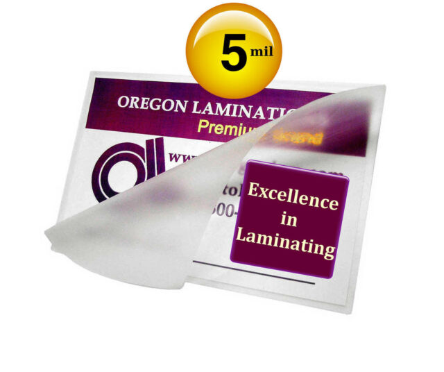 Hot 12 X 12 Laminating Pouches 5 Mil 50 12x12 Clear By Oregon Laminations For Sale Online