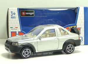 Bburago-30000-Land-Rover-Freelander-Pick-Up-034-Silver-034-METAL-1-43