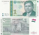 Tajikistan banconota del 1999 1 somoni