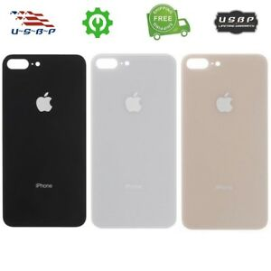 quality design 86dd0 ef406 Details about Apple iPhone 8 8 Plus Replacement Battery Glass Cover Housing  Back Door