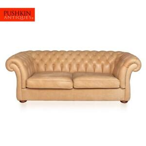 MODERN-21stC-HANDMADE-CHESTERFIELD-SOFA-IN-WHITE-LEATHER