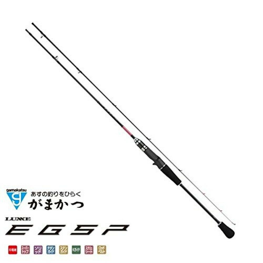 Gamakatsu Bait Rod Luxxe Egsp B60M - Solid F Eging From Stylish Anglers Japan