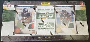 NFL-Score-2010-Football-Factory-Set-Box-2-Memorabilia-Cards-Per-Set