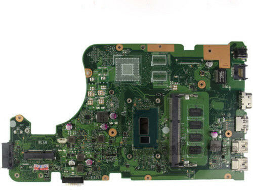 For ASUS R511L X555LA X555L X554L X555LD Laptop Motherboard With I7 CPU 4GB