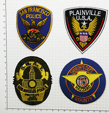 US POLICE PATCHES - Dukes of Hazzard /SWAT / Dirty Harry - Set of Patches #S04