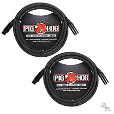 Strukture Pig Hog Series 15' XLR Microphone Cable 2-PACK
