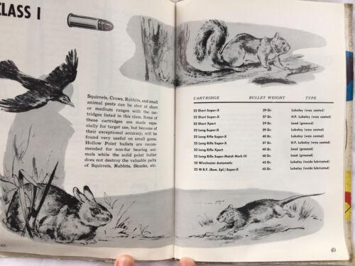 Details about  /Vintage Western Ammunition Handbook 1957 22nd Edition Gun Rifle Pistol Shotgun