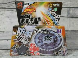 Beyblade Basalt Horogium BB104 Beyblades Toys 145WD Metal Fusion Fight Kids