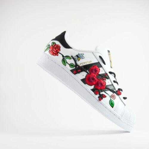 Superstar Con Rosa E Scarpe Peach Ape Adidas 4wEq55v