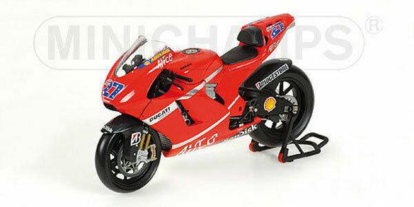Minichamps 1:12 122 070027 Ducati Desmo16 GP7 #27 Moto GP 2007 Casey Stoner WC