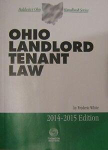 Details about Ohio Landlord Tenant Law 2014-2015 (Baldwin's Ohio Handbook  Series)
