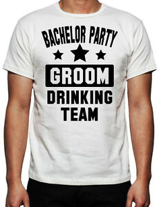2ef76f63 Image is loading Bachelor-Party-Groom-Drinking-Team-Party-Bucks-Night-