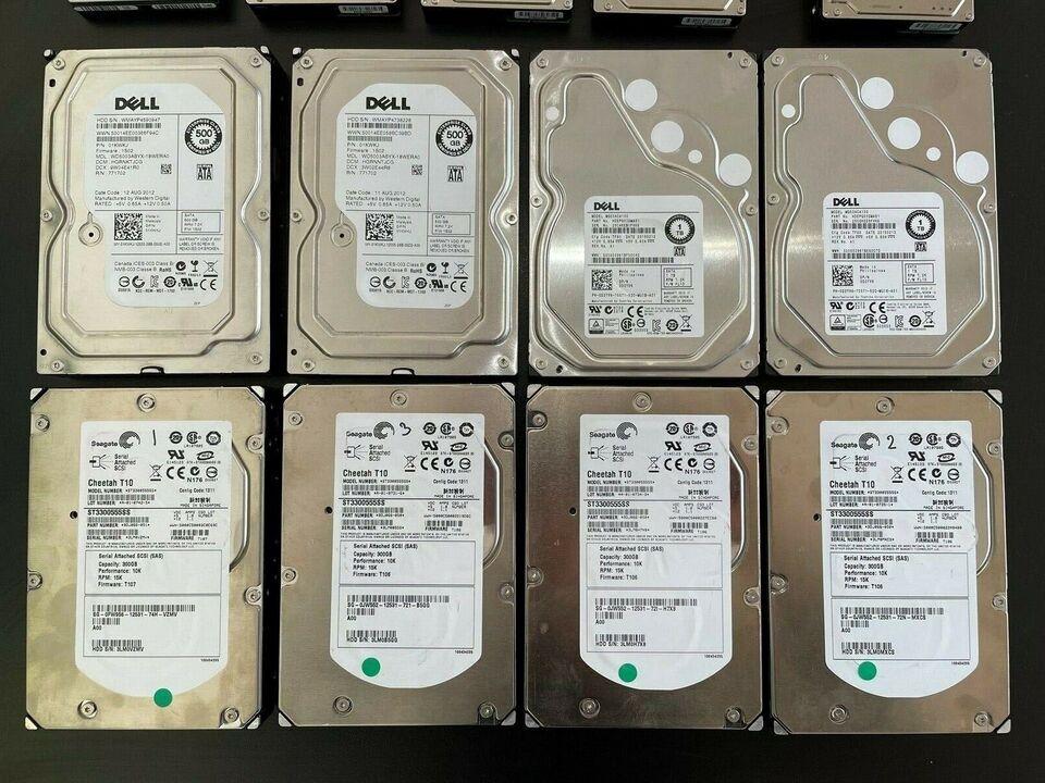 Dell, HP, Seagate
