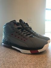 28c3adb5c42313 Nike Jordan Ol  School Mens 317223-012 Grey Red Black Basketball ...