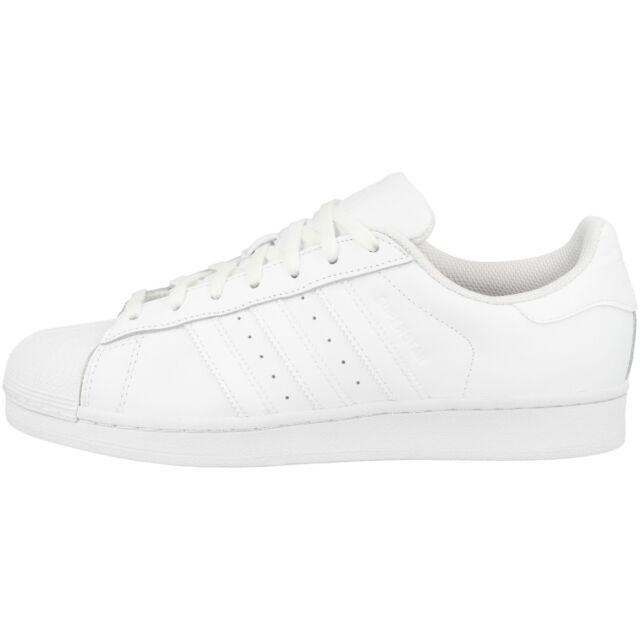 3a9f9d53 Adidas Superstar Foundation Zapatos Retro Zapatillas Deportivas Blanco  B27136