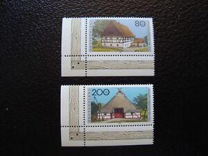 Germany-Rfa-Stamp-Yvert-Tellier-N-1652-1655-N-MNH-COL2