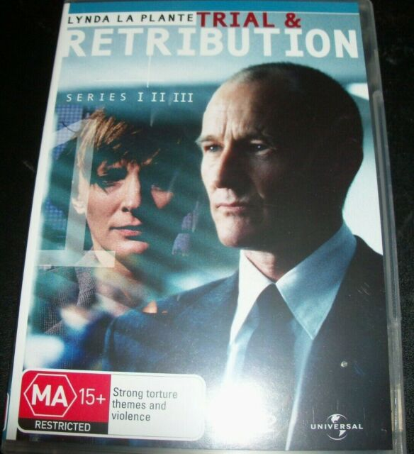 Trial & Retribution I II III Series 1 - 3 (Australia Region 4) DVD – Like New