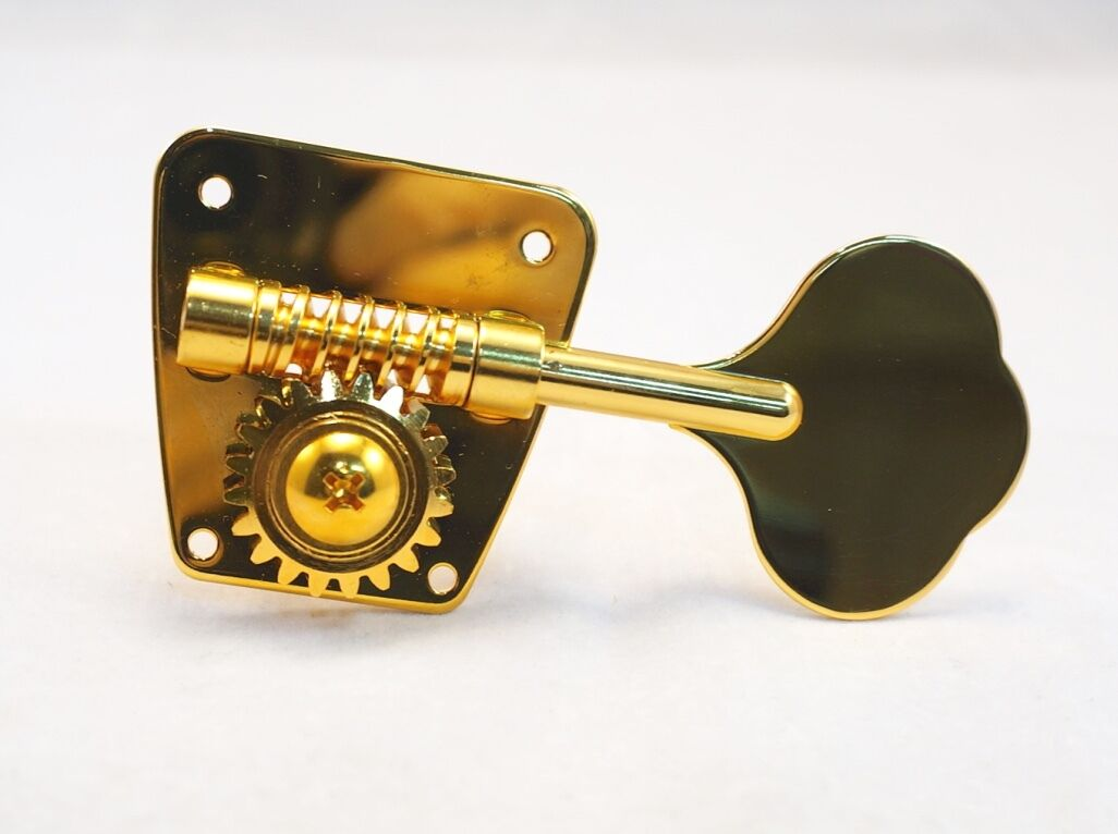 Gotoh FB-3G Bass Guitar Tuners Gold 4L