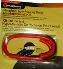 Marksman Slingshot Hyper Velocity Replacement Tapered Band Kit 1/4