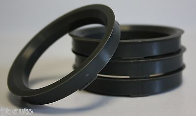 4 x 72.6-56.6 LEGA RUOTA gli anelli di centraggio mozzo codolo si adattano Opel Corsa D