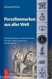Fachbuch-2-061-Porzellanmarken-aus-aller-Welt-neue-18-Auflage-Poche-NEU-OVP