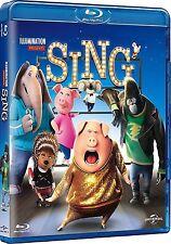 SING (Disney /Illumination) -  BLU RAY  - Sealed Region free