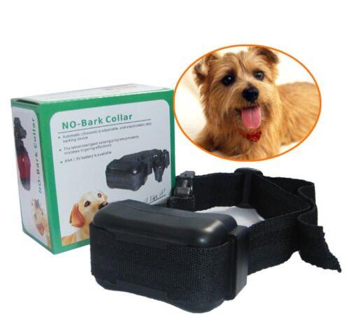 NEW Anti No Bark Control Collar Auto Static Shock for Training Dog Stop Barking