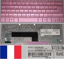 Clavier Azerty Français HP Mini110c-1130SF V100226FK1 537754-051 537954-051 Rose