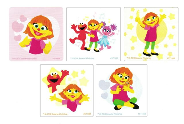15 Sesame Street Abby Cadabby Stickers Kid Party Goody Loot Gift Bag Favor