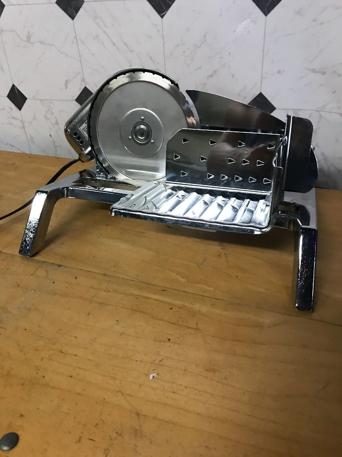 Vintage Rival Electric Meat Deli Food Slicer Model 65301 Tested Working Great