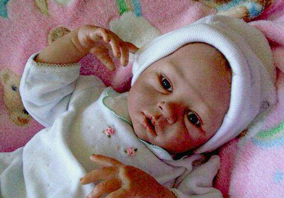 Long Sold Out New Reborn Baby Doll Kit  Summer By Mylene Swertz @ 22 @LE250