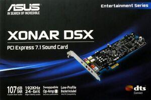 Asus-Xonar-Sound-Card-Used-DSX-7-1-Channel-PCIe-192k-24-bit-audio-3D-sound