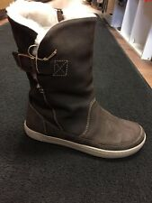 Birkenstock Women's Woodbury Boot Shearling Brown 37 - 39 - 40  - 42