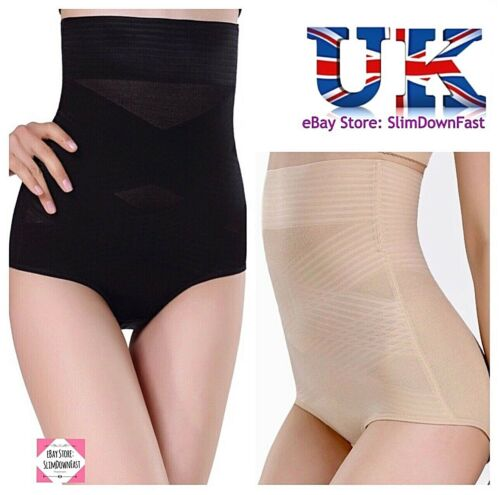 Ladies Womens Plus Size High Waisted Magic Slimming Firm Control Knickers Briefs
