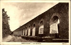Marly-le-Roi-France-CPA-1920-30-Les-Aqueducs-Partie-am-Aquaedukt-Weg-ungelaufen