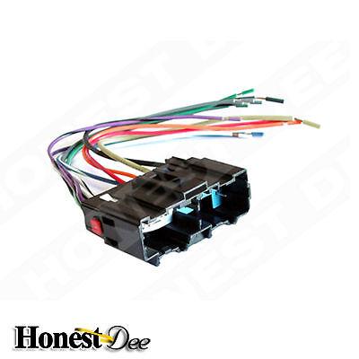 Car Stereo Adapter Metra 70-7302 Aftermarket Radio Wiring Harness for Santa Fe