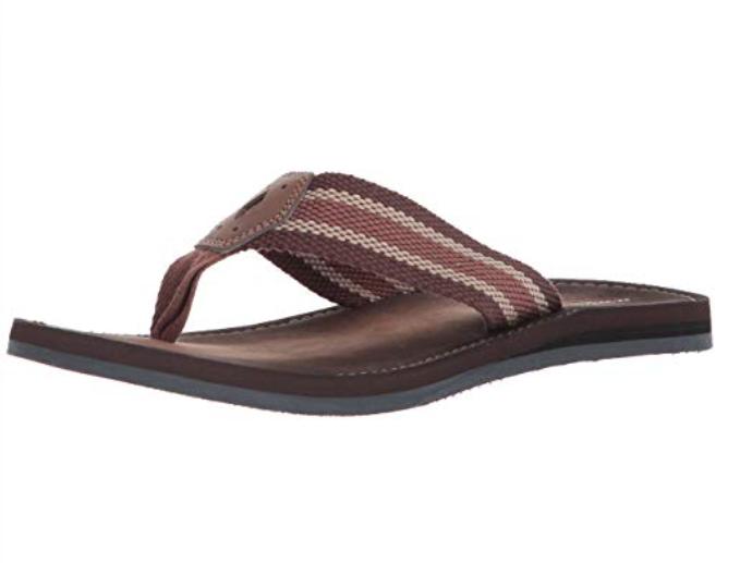 Clarks Men's Lacono Sun Flip Flop Sandal Brown 26131598