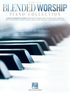Details about Blended Worship Piano Collection - Piano Solo Songbook 293528