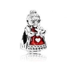 Genuine Authentic Pandora  charm Mrs Santa Claus Christmas 792005EN07 charm