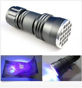 21-LED-395-nM-UV-Ultra-Violet-Blacklight-Flashlight-For-CSI-Inspection-Light