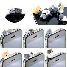 1Pcs Cute Cat Earcap Anti Dust Plug Cover Earphone Stopper Phone Accessories