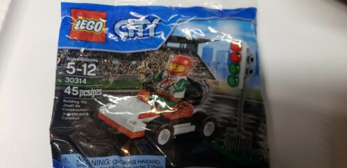 LEGO 30314 Race Car Sealed Buy Any 6 Polybags = Free Shipping