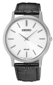 SEIKO-Men-039-s-Solar-Quartz-Stainless-Steel-Case-Leather-Strap-30m-WR-SUP873
