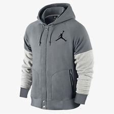 NEW Men's Jordan by Nike Varsity Hoodie Jacket Size: X-Large Color: Gray